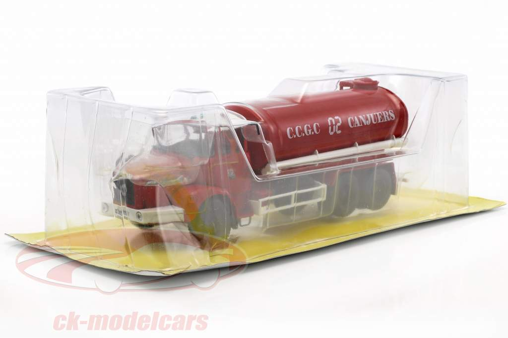 Renault Type GBH 280 6x6 CCGC de Canjuers Fire Department red / white 1:43 Atlas