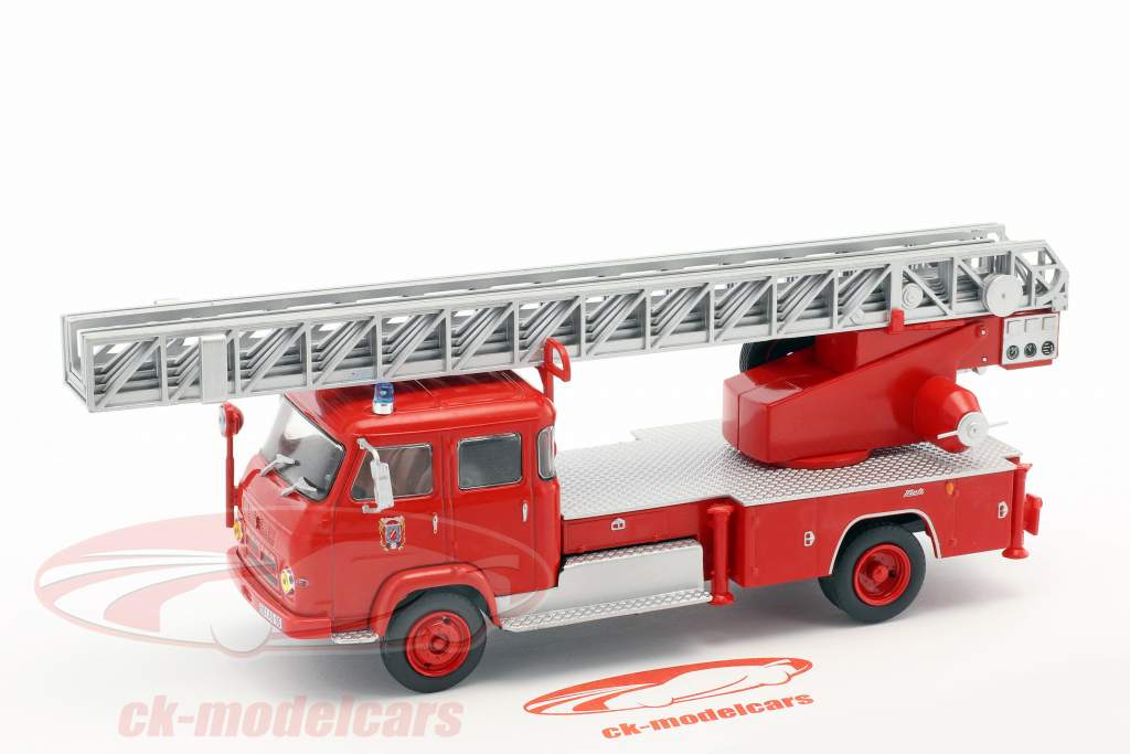 Saviem S7 Fire Truck with ladder red 1:43 Atlas