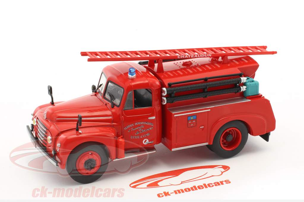 Citroen 46 CD Eure & Loir Fire Department red 1:43 Atlas