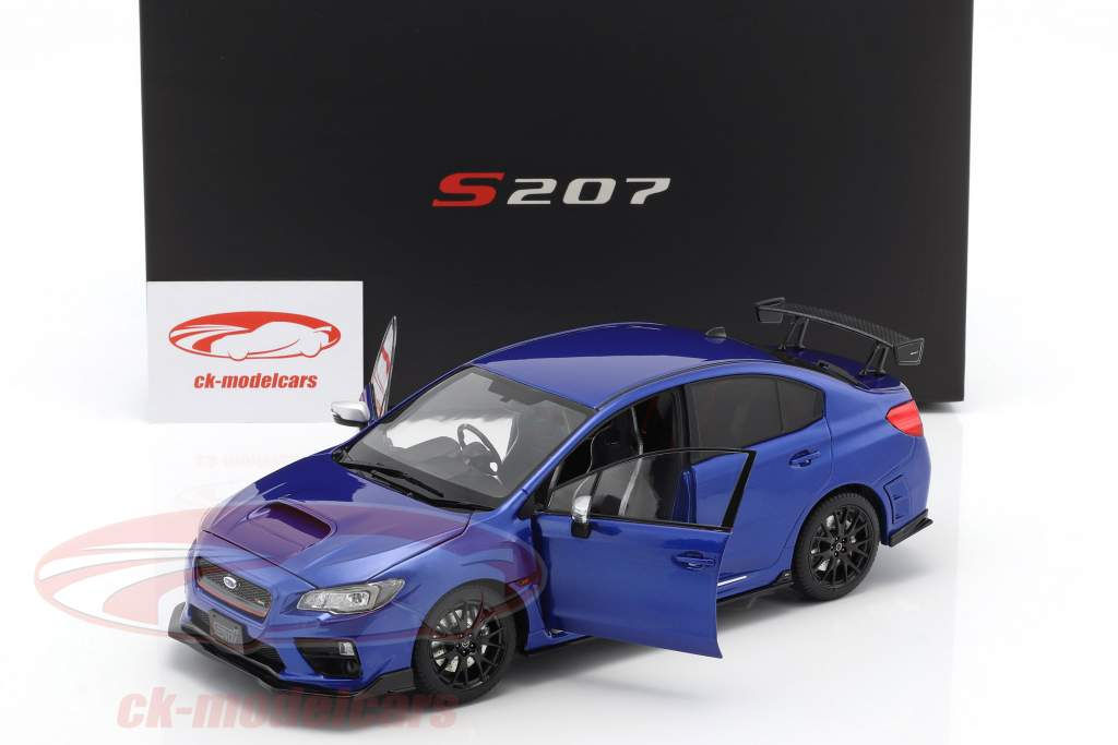 Subaru S207 NBR Challenge Package year 2015 blue 1:18 SunStar