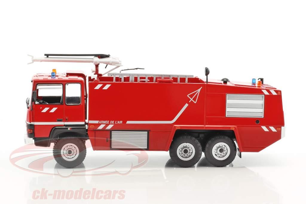 Thomas VMA 72 Armee de l'air fuoco camion rosso / bianco 1:43 Atlas