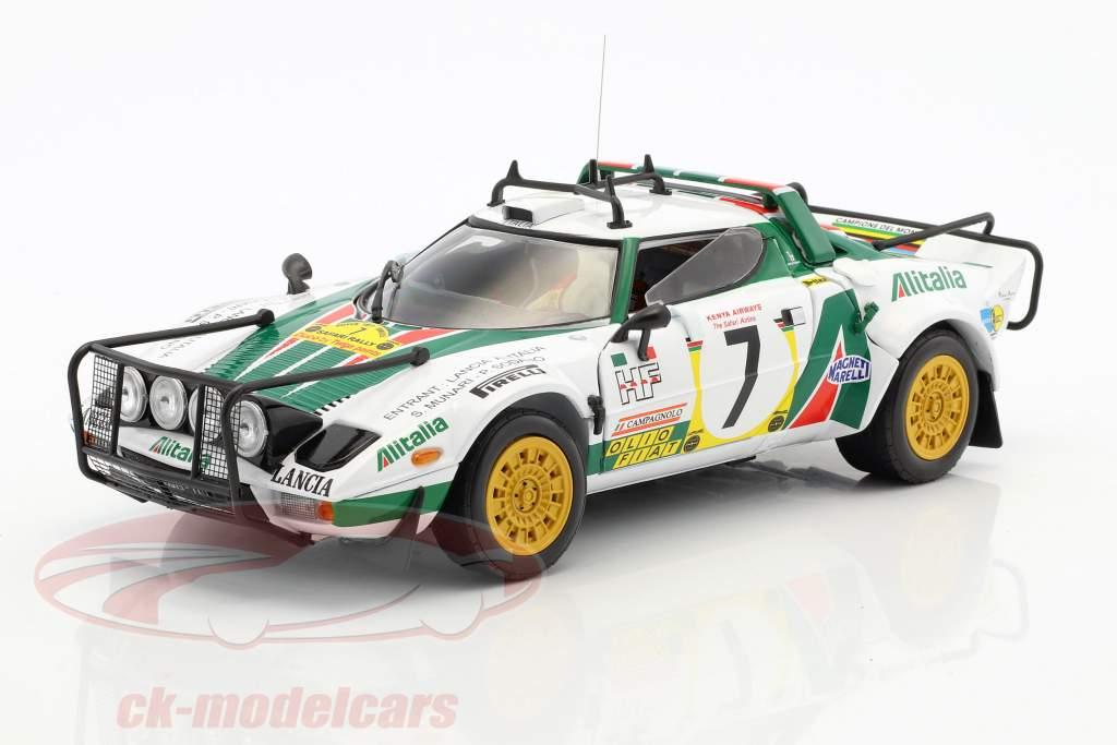 Lancia Stratos HF Rally #7 3 Safari Rallye 1977 Munari, Sodano 1:18 SunStar