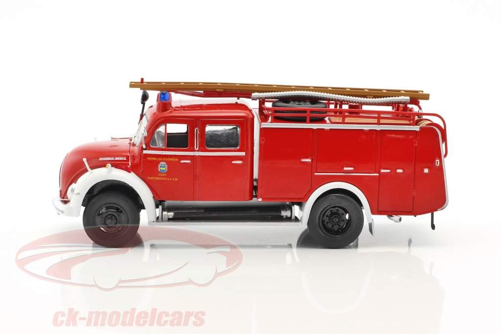 Magirus Deutz Fire Department Pfaffenhofen red 1:43 Atlas