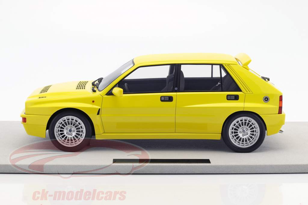 Lancia Delta Integrale Evolution year 1987 yellow 1:12 TopMarques