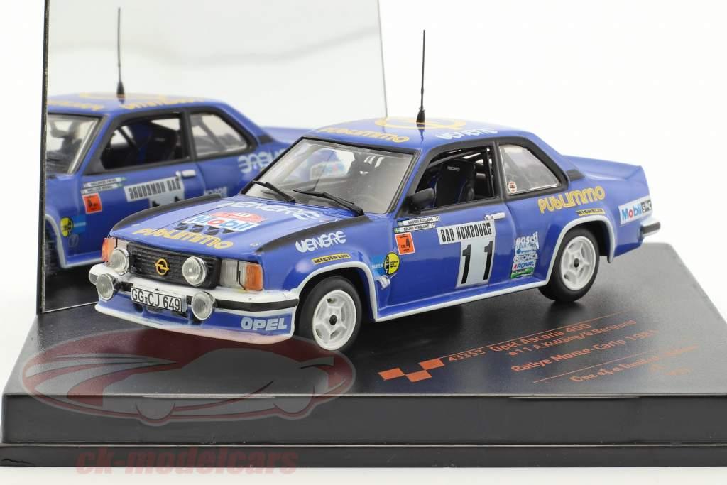 Opel Ascona 400 #11 Rally Monte Carlo 1981 Kulläng, Berglund 1:43 Vitesse