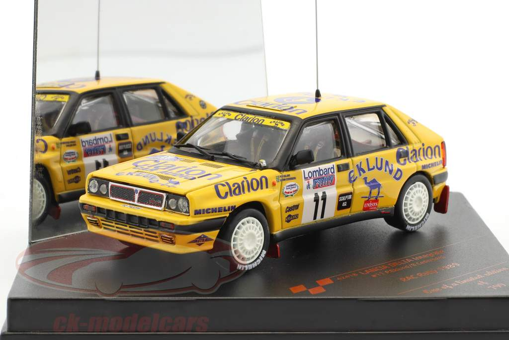 Lancia Delta Integrale #11 RAC Rally 1989 Eklund, Cederberg 1:43 Vitesse