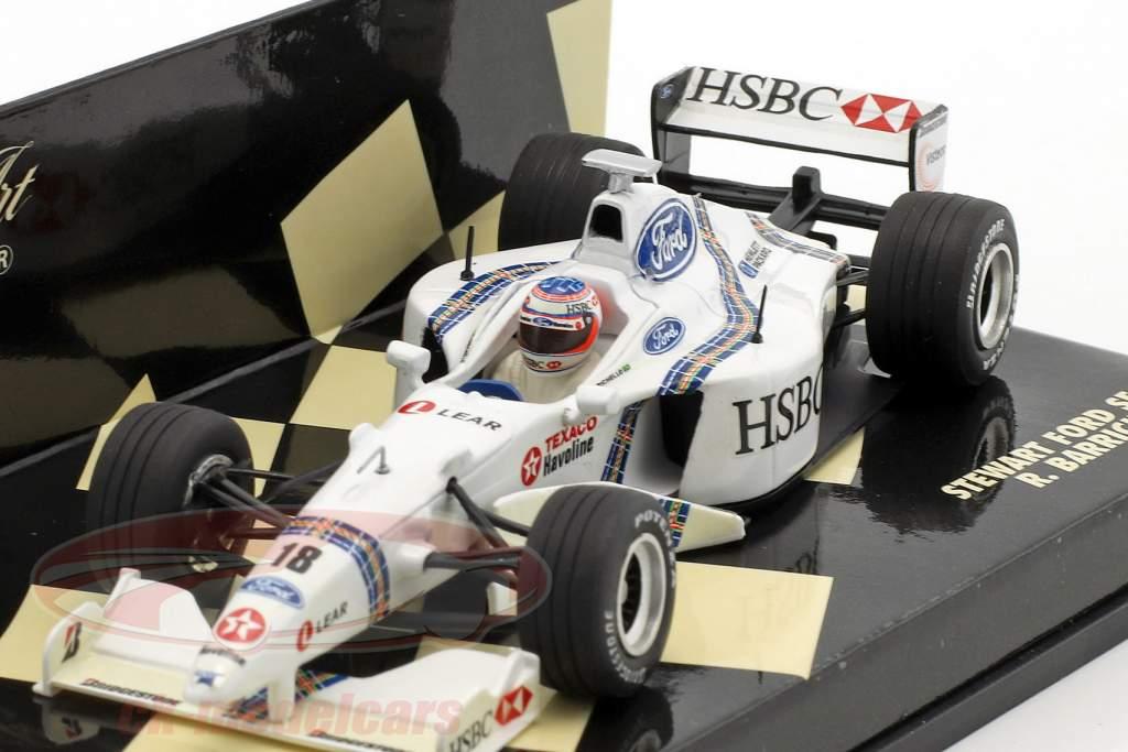Rubens Barrichello Stewart SF2 #18 formula 1 1998 1:43 Minichamps