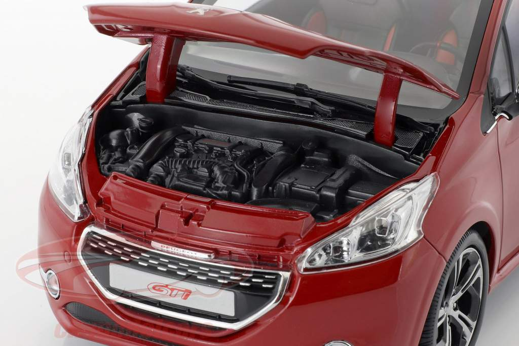 Peugeot 208 GTi year 2013 ruby red 1:18 Norev