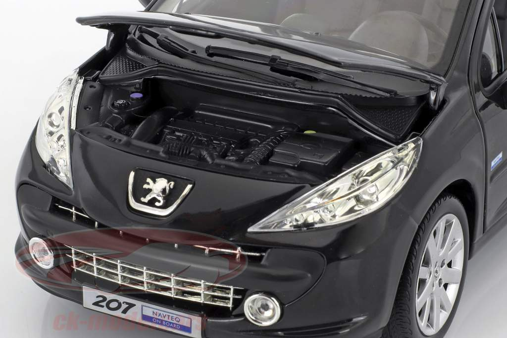 Peugeot 207 Salon de Paris 2008 black 1:18 Norev