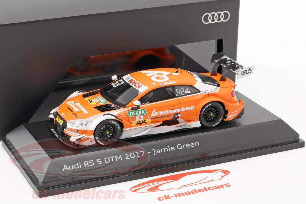 Audi RS 5 #53 3th DTM 2017 Jamie Green 1:43 Spark