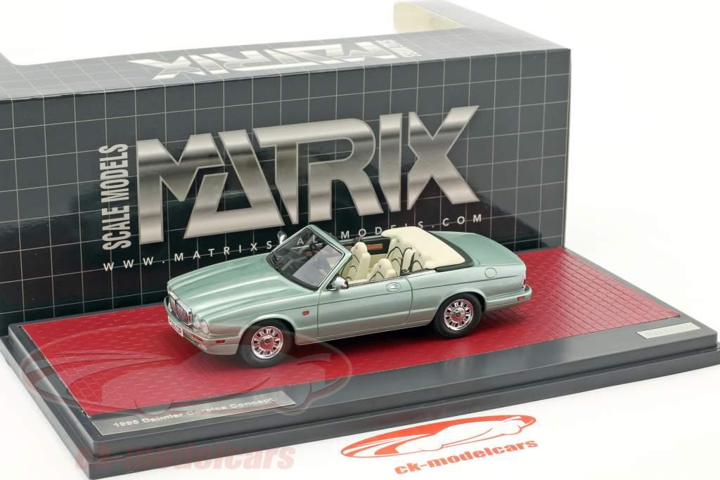 Daimler Corsica Concept cabriolet anno di costruzione 1995 luminoso verde metallico 1:43 Matrix
