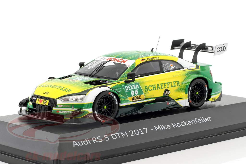 Audi RS 5 #99 4th DTM 2017 Mike Rockenfeller 1:43 Spark