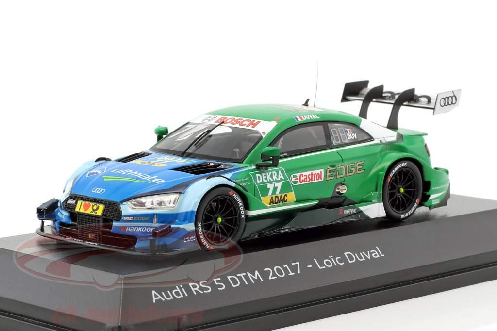 Audi RS 5 #77 DTM 2017 Loic Duval 1:43 Spark