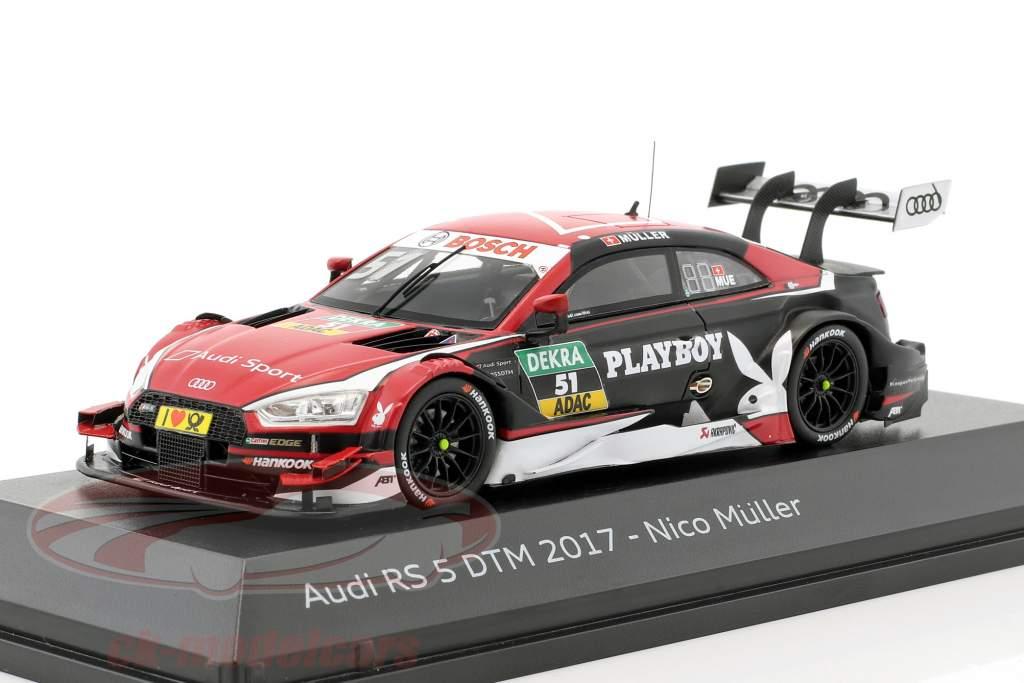 Audi RS 5 #51 DTM 2017 Nico Müller 1:43 Spark