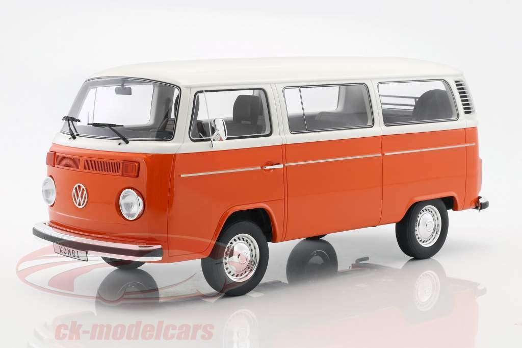 Volkswagen VW Kombi T2 Bus année de construction 1978 orange / blanc 1:12 OttOmobile