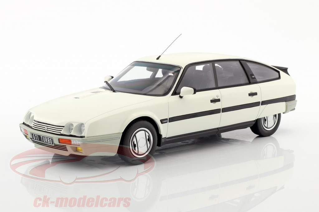 Citroen Cx 2.5 GTI Turbo 2 year 1988 white 1:18 OttOmobile