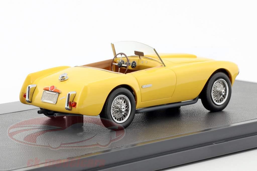 Siata 208S Motto Spider année de construction 1953 jaune 1:43 Matrix