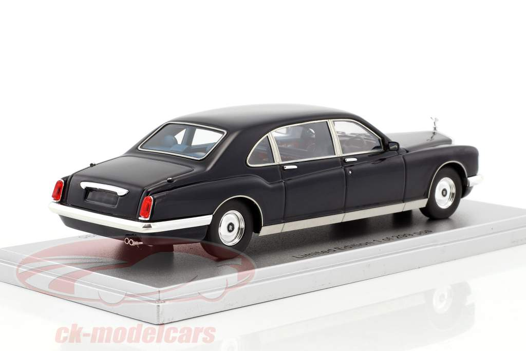 Rolls Royce Royale Phantom Majestic Bertone année de construction 1995 sombre bleu 1:43 KESS