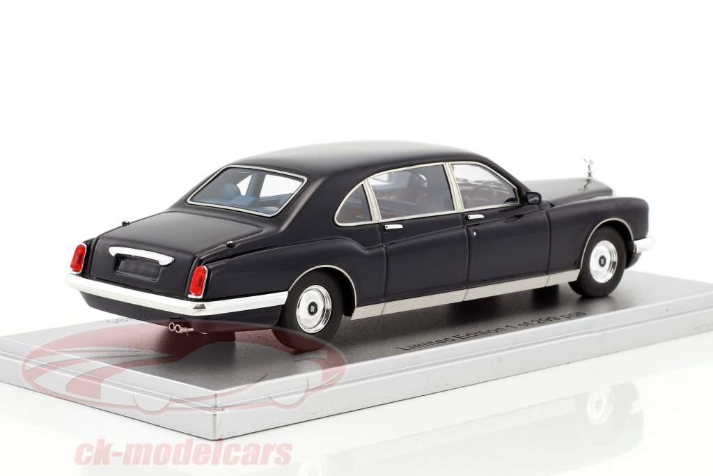 Rolls Royce Royale Phantom Majestic Bertone Baujahr 1995 dunkel blau 1:43 KESS