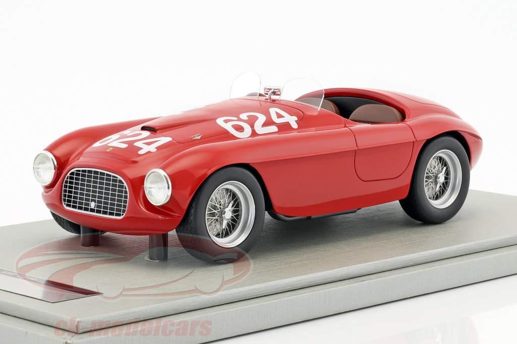 Ferrari 166MM #624 Winner Mille Miglia 1949 Biondetti, Salani 1:18 Tecnomodel