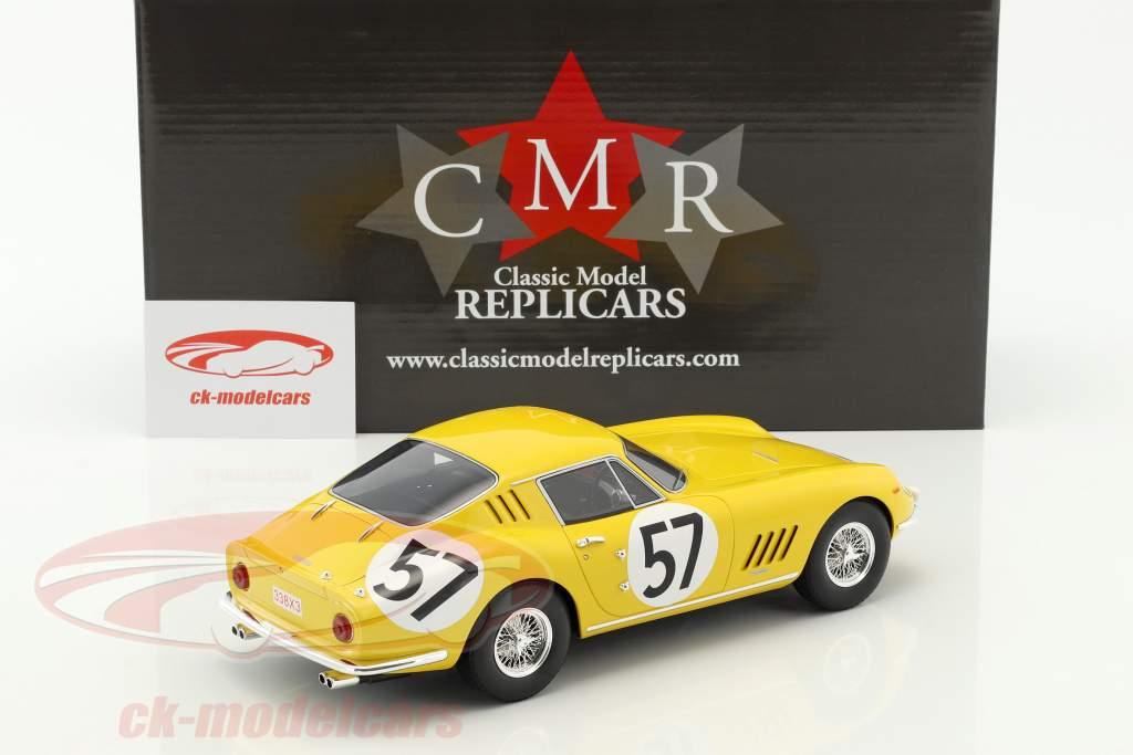 Ferrari 275 GTB #57 10 ° 24h LeMans 1966 Noblet, Dubois 1:18 CMR