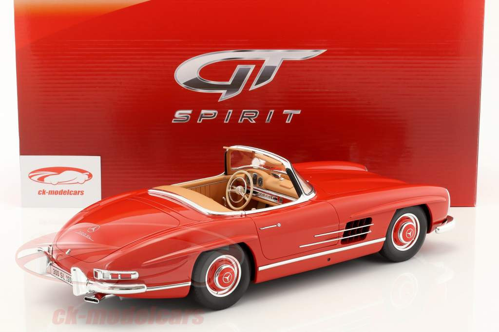 Mercedes-Benz 300SL (W198) Roadster année de construction 1957 rouge 1:12 GT-Spirit