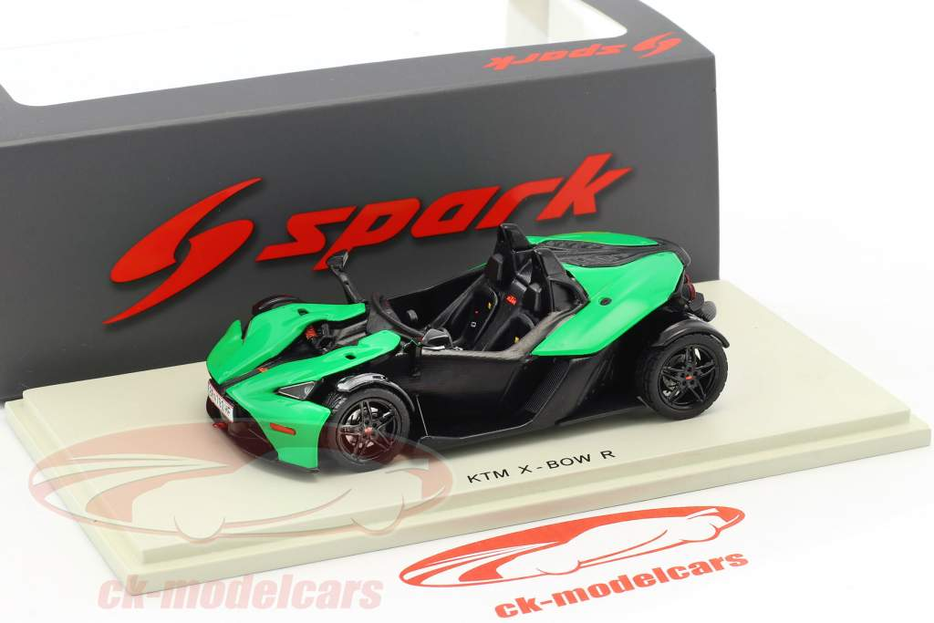 KTM X-Bow R year 2016 green / black 1:43 Spark