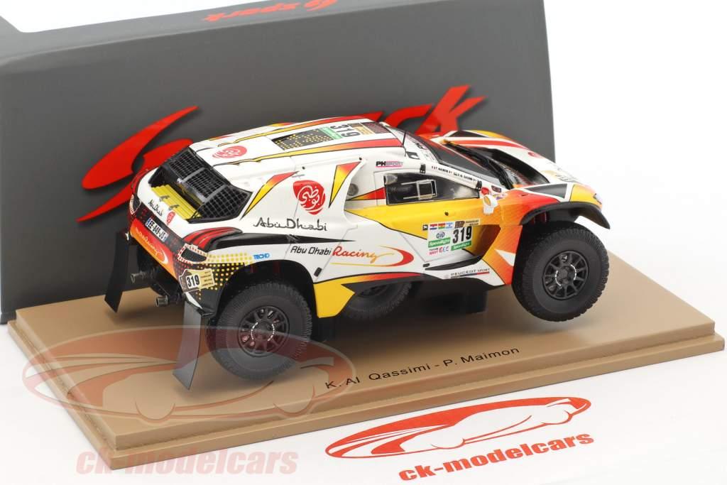 Peugeot 2008 DKR #319 Rallye Dakar 2017 Al Qassimi, Maimon 1:43 Spark