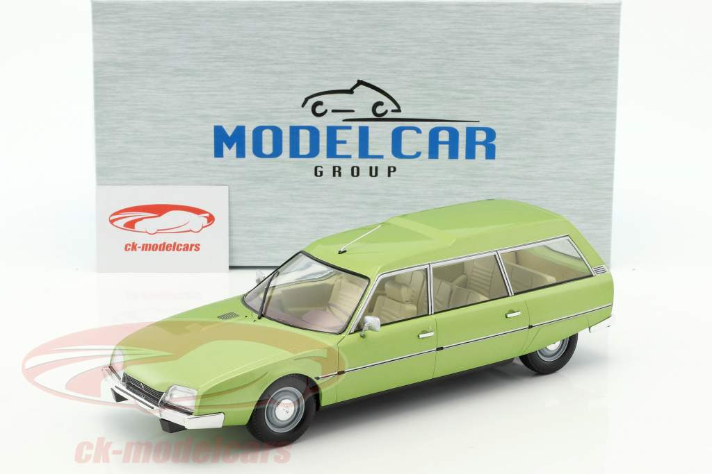 Citroen CX 2400 Super Break Serie I anno di costruzione 1976 verde metallico 1:18 Model Car Group