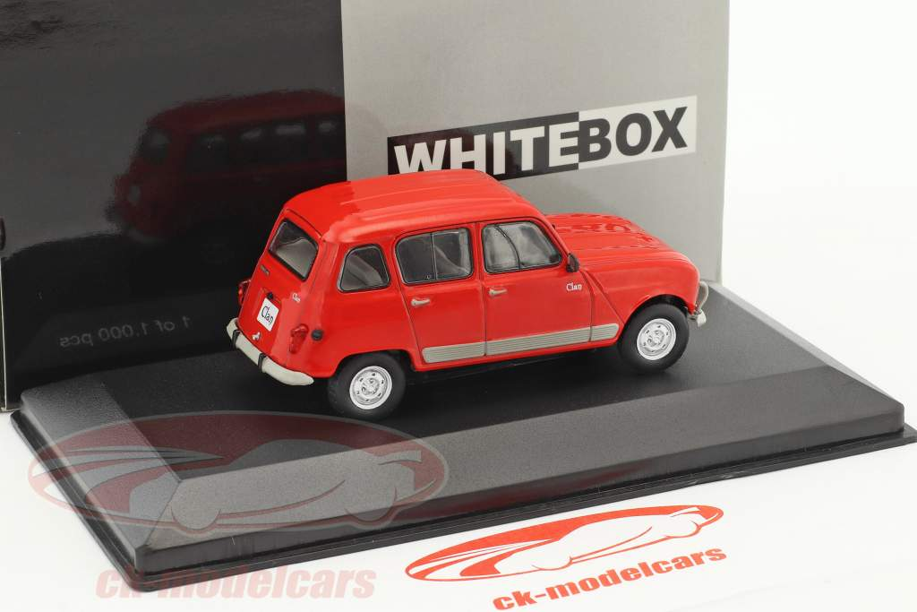 Renault 4 Clan Baujahr 1978 rot 1:43 WhiteBox