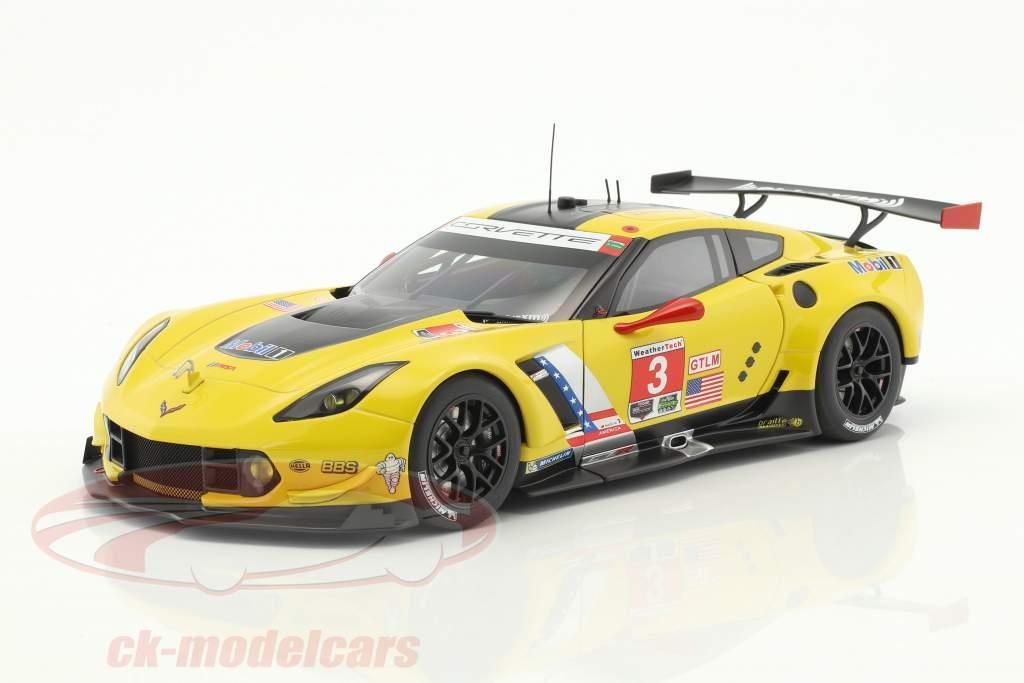 Chevrolet Corvette C7.R #3 2 ° Lime Rock IMSA 2016 Garcia, Magnussen 1:18 AUTOart