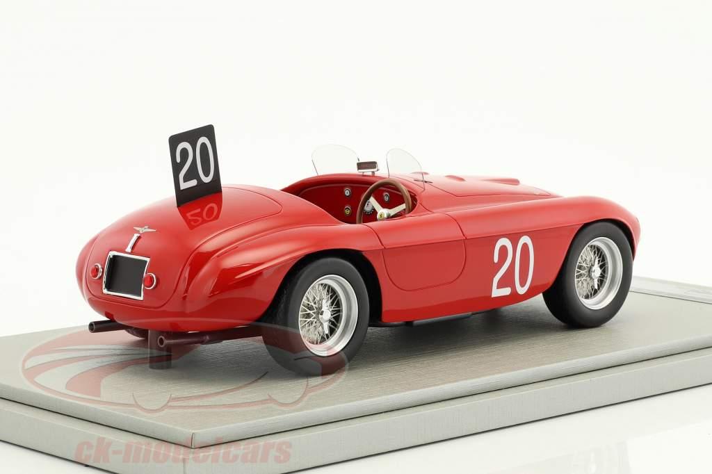 Ferrari 166MM #20 Winner 24h Spa 1949 Chinetti, Lucas 1:18 Tecnomodel