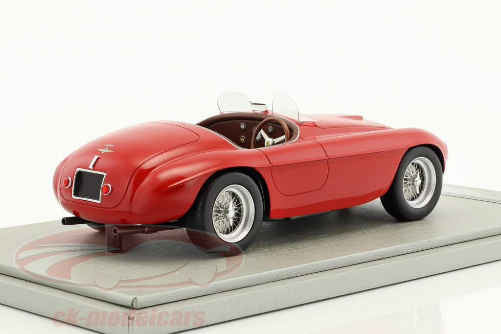 Ferrari 166MM presse version 1949 rouge 1:18 Tecnomodel