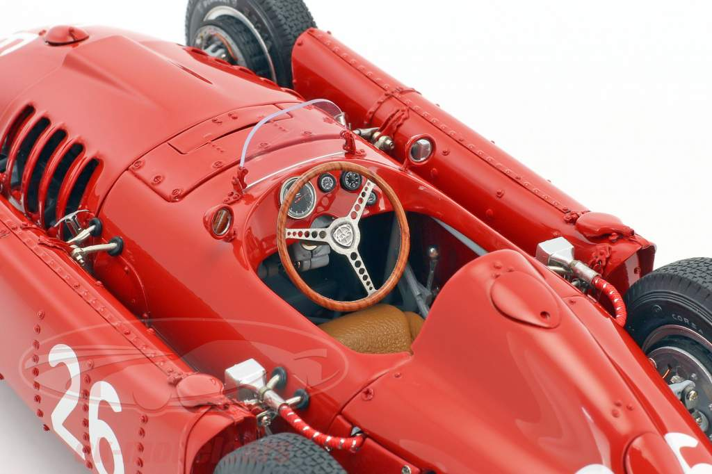 Lancia D50 #26 Monaco GP Formel 1 1955 Alberto Ascari 1:18 CMC