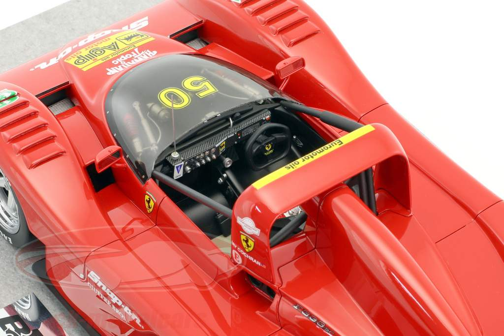 Ferrari 333 SP Tic Tac #50 Winner Road Atlanta IMSA 1994 Jay Cochran 1:18 BBR