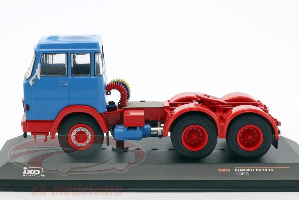 Henschel HS 19 TS blue / red 1:43 Ixo