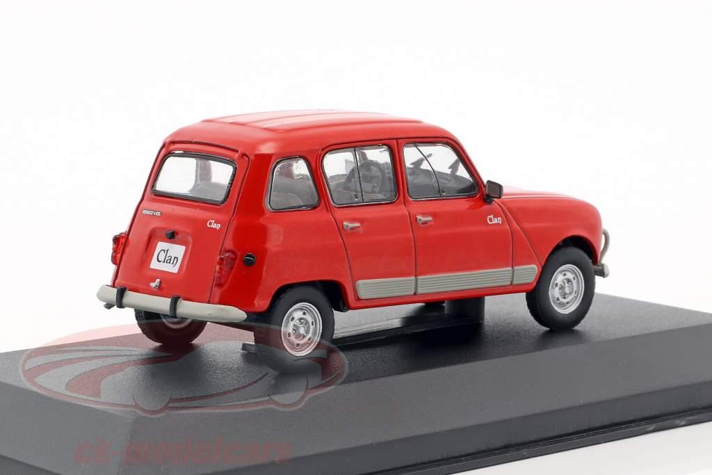Renault 4 Clan Baujahr 1978 rot 1:43 WhiteBox