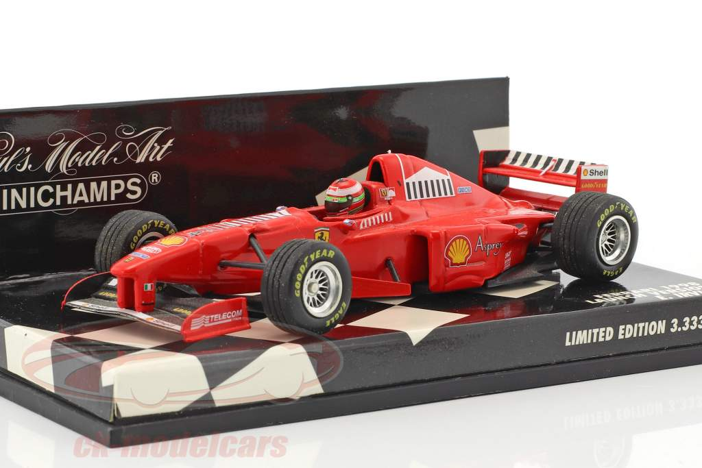 Eddie Irvine Ferrari F300 #4 formula 1 1998 Launch version 1:43 Minichamps