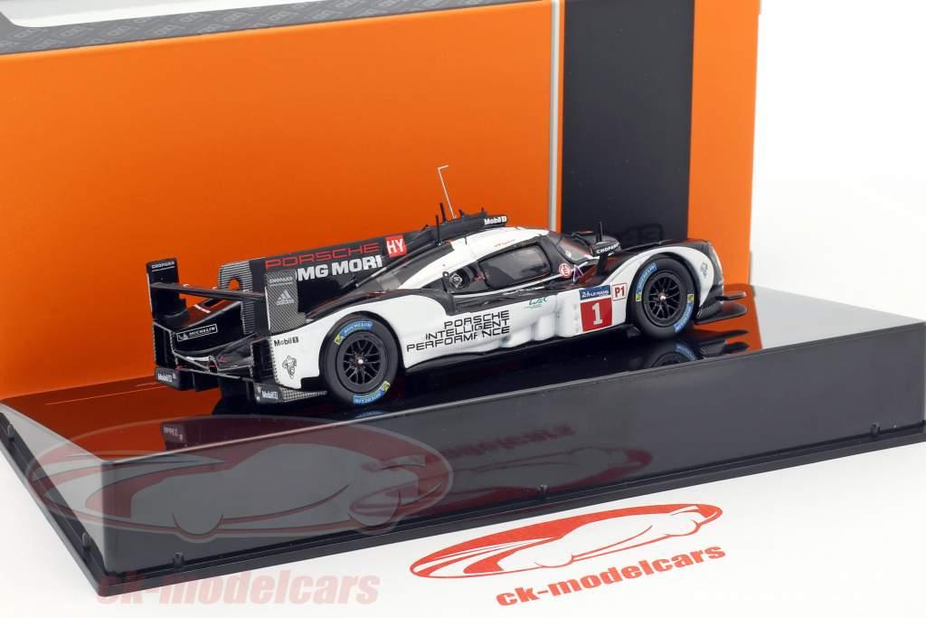 Porsche 919 Hybrid #1 24h LeMans 2016 Bernhard, Webber, Hartley 1:43 Ixo