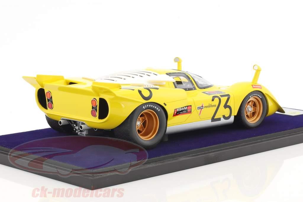 Ferrari 512 S #23 1000km Spa 1970 Bell, De Fierlant 1:18 LookSmart