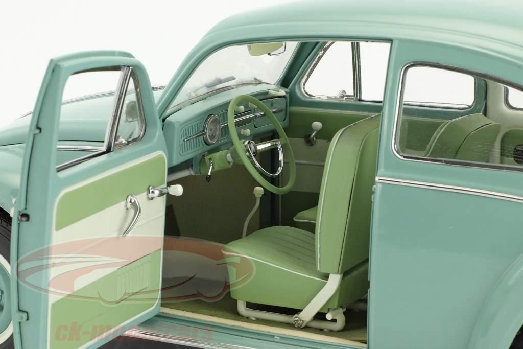Volkswagen VW Käfer Saloon Baujahr 1961 pastellblau 1:12 SunStar
