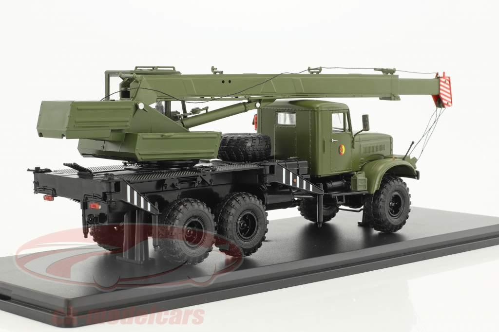 KrAZ-255 NVA Kranwagen olive 1:43 PremiumClassiXXs