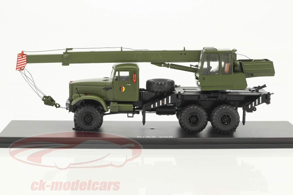 KrAZ-255 NVA Kranwagen oliv 1:43 PremiumClassiXXs