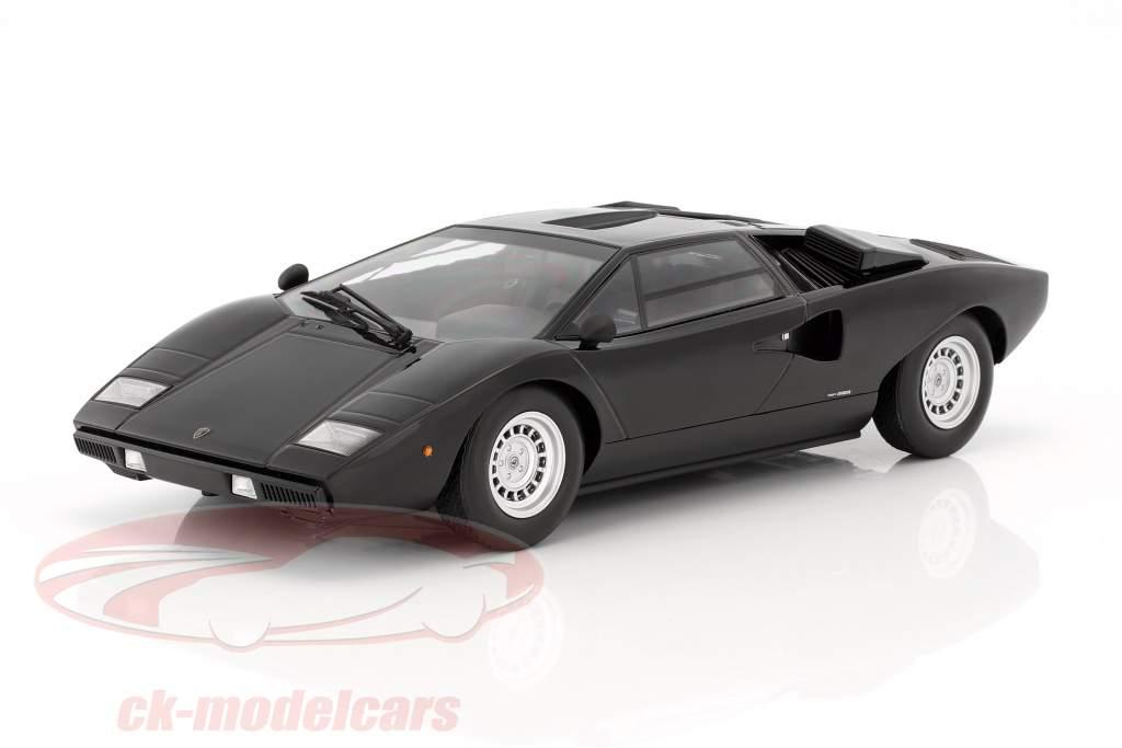 Lamborghini Countach LP400 année de construction 1974-1978 noir 1:18 Kyosho
