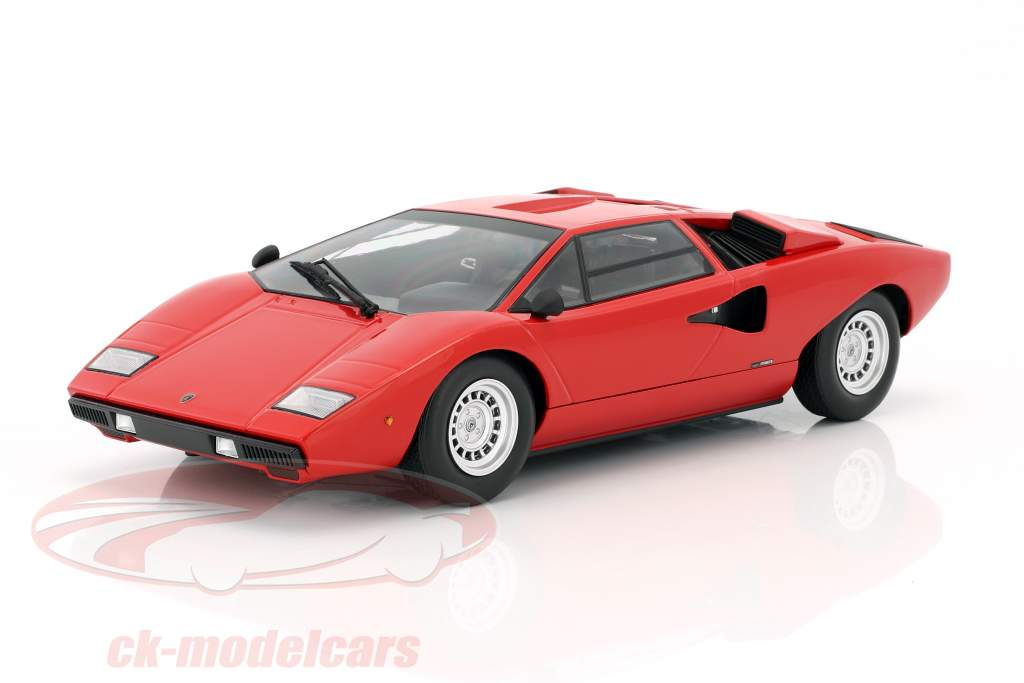 Lamborghini Countach LP400 year 1974-1978 red 1:18 Kyosho