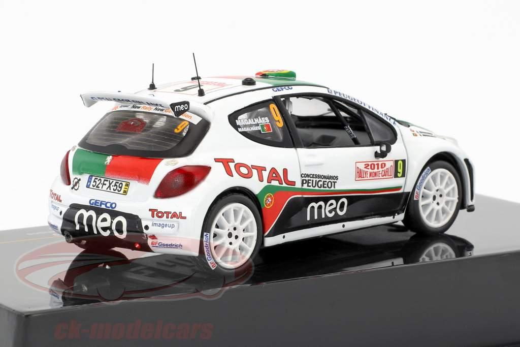 Peugeot 207 S2000 #9 Rallye Monte Carlo 2010 B. Magalhaes, C. Magalhaes 1:43 Ixo