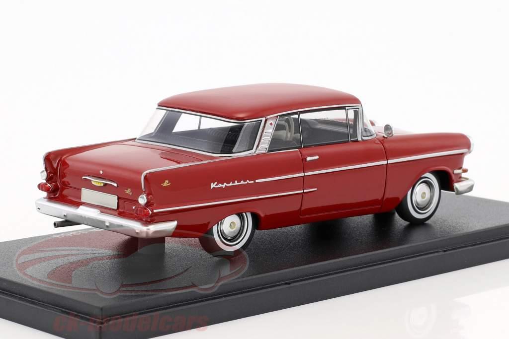 Opel Kapitän P 2,6 coupé Autenrieth année de construction 1963 sombre rouge 1:43 Neo