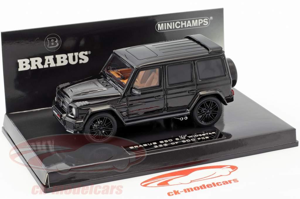 Brabus 850 6.0 Biturbo Widestar year 2016 black 1:43 Minichamps