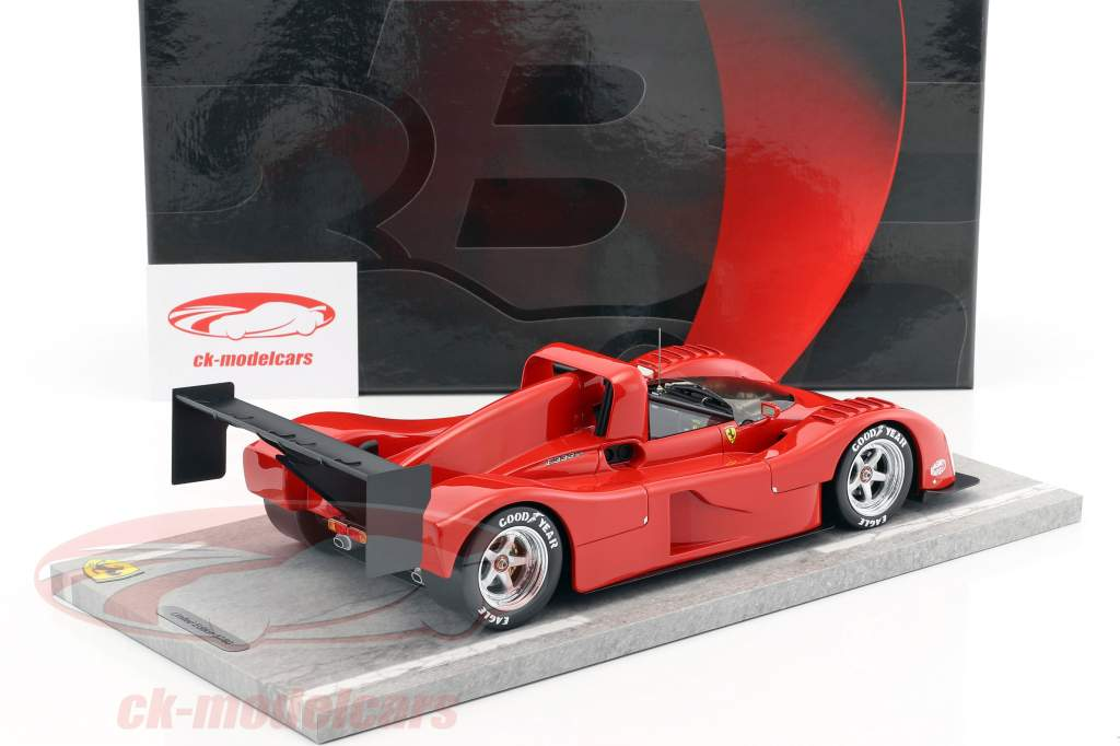 Ferrari 333 SP Press version 1994 red 1:18 BBR