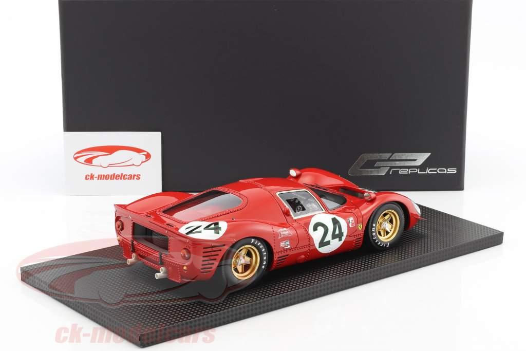 Ferrari 330 P4 #24 2nd 24h Daytona 1967 Parkes, Scarfiotti 1:18 GP Replicas